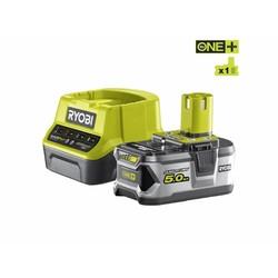 ONE + 18V 5.0Ah Lithium Batterie + Ladegerät RC18120-150
