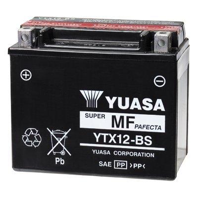 Yuasa YTX12-BS Onderhoudsvrije Accu