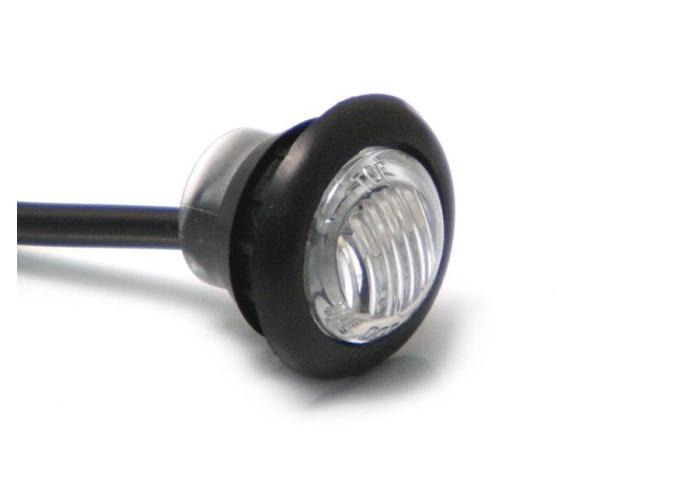 Amber 12V round mini indicator LED