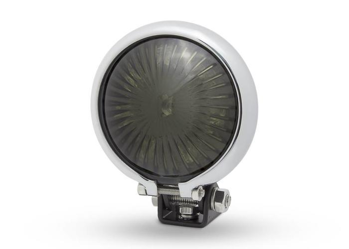 Smoke Tail Light LED  type Bates Style 2 Chrome Black