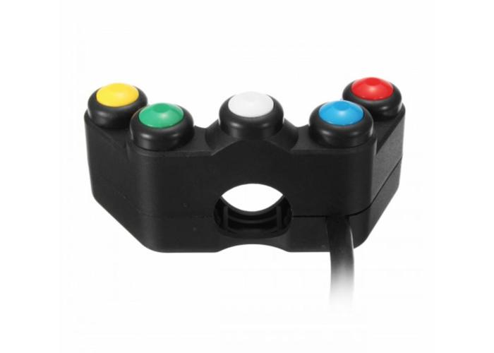 22MM 5-button Switch