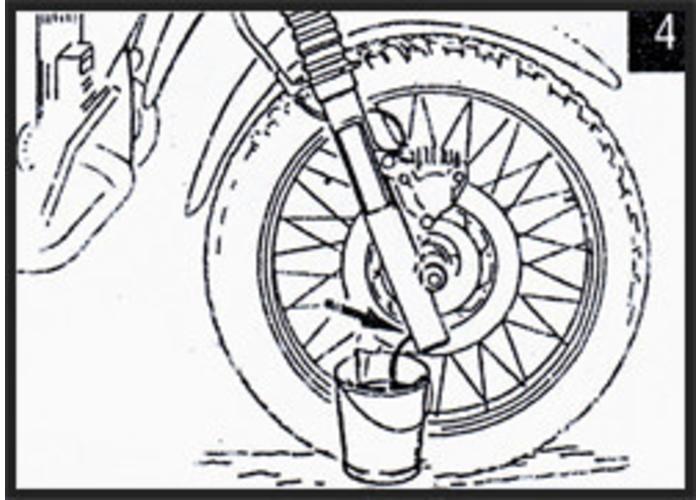 Hagon Aprilia Moto 6.5 92-96 Gabelfedern Satz