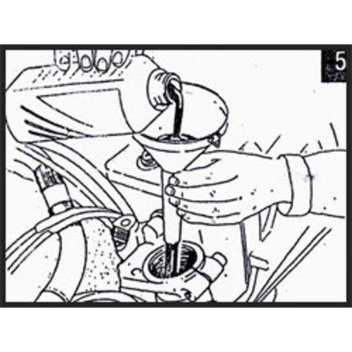 Hagon BMW R 65 RT (Single sided swingarm) 85-95 Voorvork Veren Set