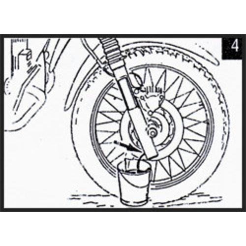 Hagon BMW R 80 (Single sided swingarm) 85> Gabelfedern Satz