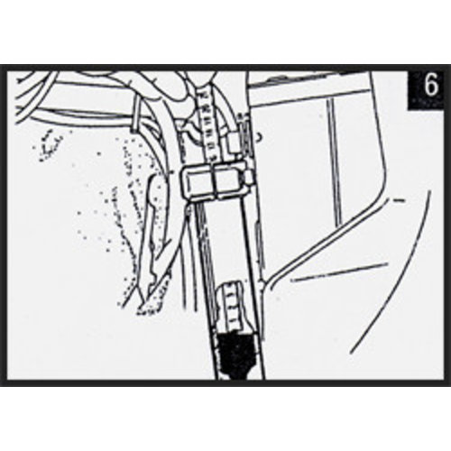 Hagon BMW R 80 RT (Single sided swingarm) 85> Voorvork Veren Set