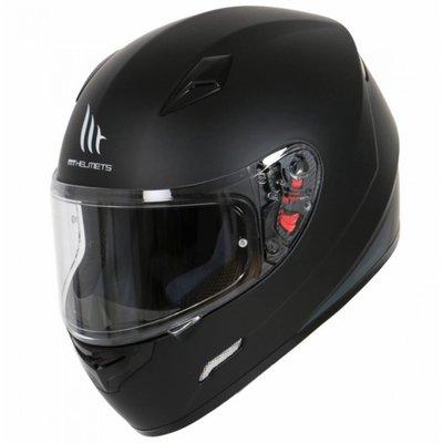 MT Helmets Mugello Solid Matt Schwarz