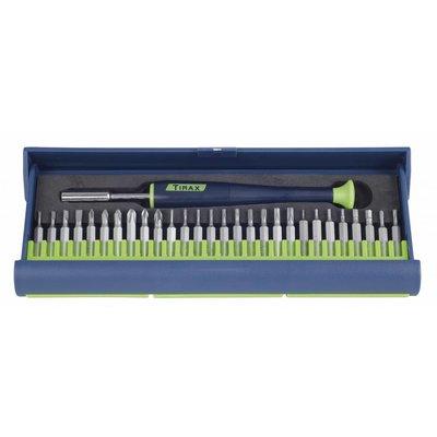 Tirax Kit de mèches de précision - 29 pièces