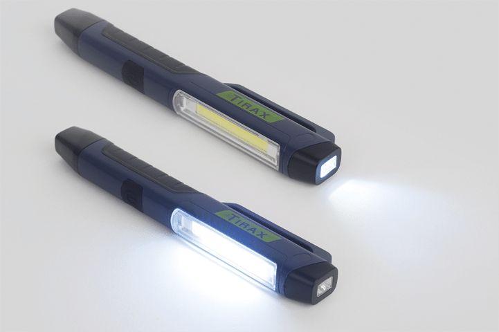 Led taschenlampe mit magnet kunststoff led und cob led
