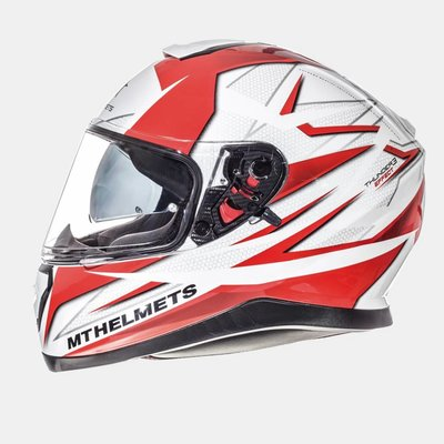 MT Thunder III SV Effect White / Red