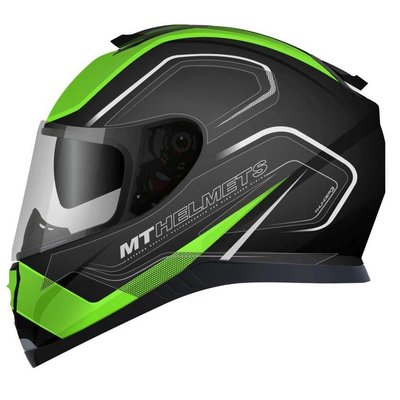 MT Helmets Donner III SV Spur Schwarz / Grün