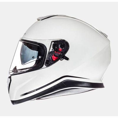 MT Helmets Thunder III SV Solid Weiss