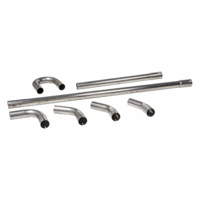 45MM Stahl Auspuff Teile (Wählen Sie Ihre Stücke)