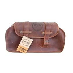 Leather bag rectangular