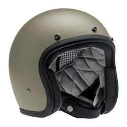 Bonanza 3/4 Face Helmet Flat Titanium