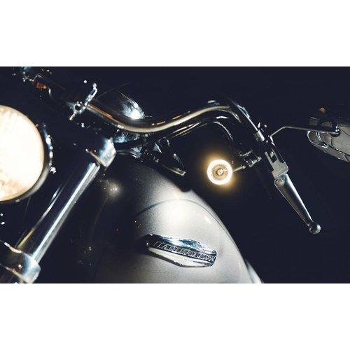 Kellermann Anzeige / White Markerlight Bullet 1000 PL Chrom
