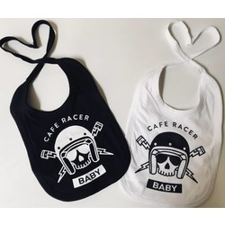 Slabbetje Cafe racer Baby (selecteer uw kleur)