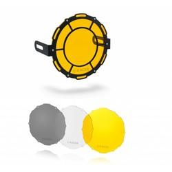 Koplampscherm + lensset (3 stuks)
