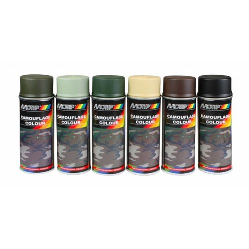Motip Camouflage Lacquer 400ML (Different Colours!)