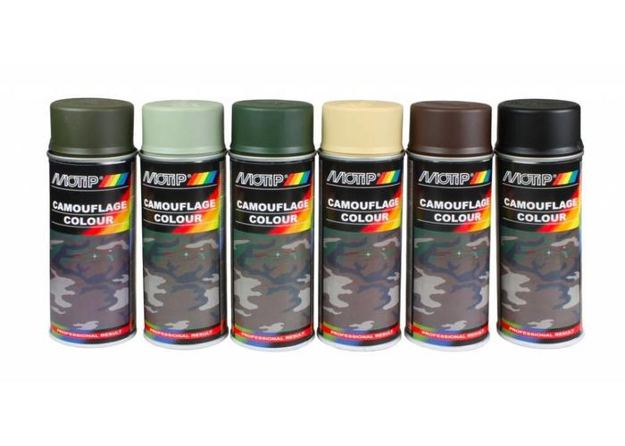 Motip Camouflage Lacquer 400ML (Different Colors !!)
