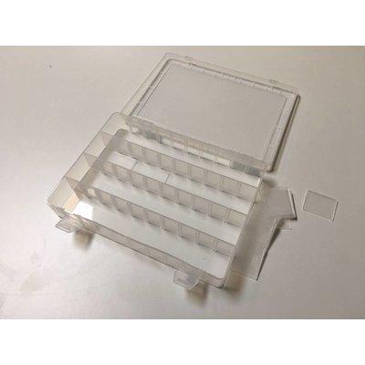 Sorting box Transparent 250 x 185 x 40 MM Variable (20)