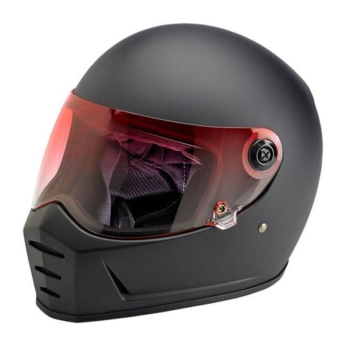 Biltwell Lane Splitter Visor Red