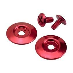 Kit de boutons-pression rouges