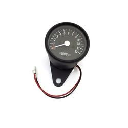 1:4 Mechanical Tacho RPM - zwart