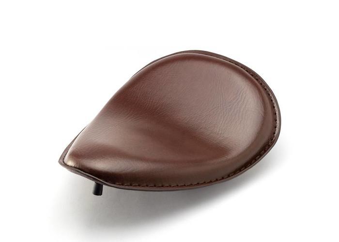 Bobber Sitz mit Scharnier + Federn - Comfortline Brown