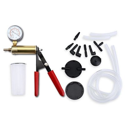 15 Part Vacuum Pump for Brake Fluid - Brake Bleeder
