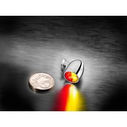 Atto DF achterlicht / knipperlichten Chrome