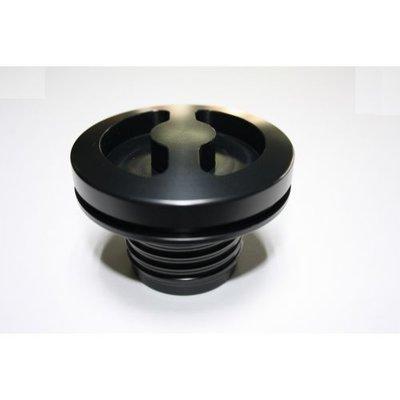 Fuel cap Round Black; R2V '76>
