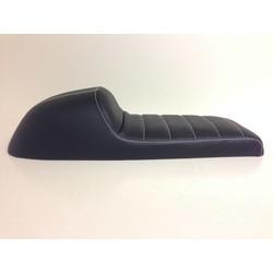 Beklede Cafe Racer Seat Tuck N' Roll Stitch Zwart Type 34