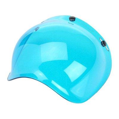 Biltwell ANTI-FOG BUBBLE SHIELD BLUE