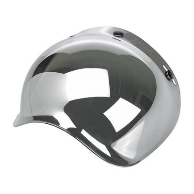 Biltwell ANTI-FOG BUBBLE SHIELD CHROME