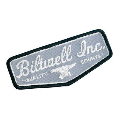 Biltwell Écusson Shield Noir/Gris