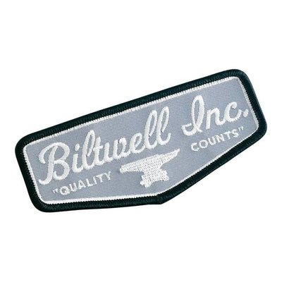 Biltwell Shield Patch Black/Grey