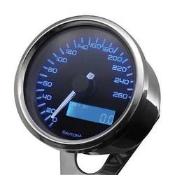 Digitaler Speedo 260km/h Chrome