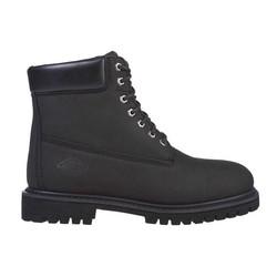 Asheville 6'' waterproof boots black premium Nubuck leather