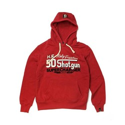 Hoodie Shotgun Red