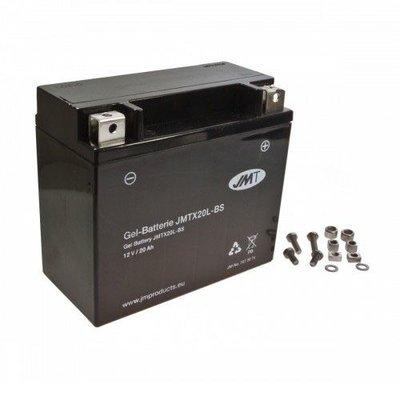JMT JMTX20L-BS Gel Batterie 12V / 20 ah