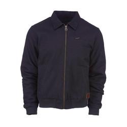 Canvas Zip-up Jacket Black