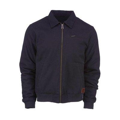Dickies canvas zip-up jacket black