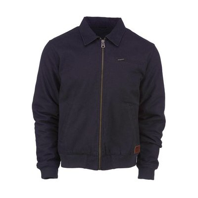 Dickies canvas zip-up jas zwart