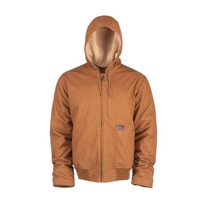 Dickies Brauner Farnham Canvas Jacket Zip-Up