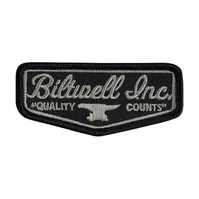 "Biltwell Shield 3"" Black grey patch"