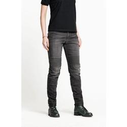Pantalon gris uni pour femme