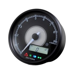 Indicateur de vitesse et compte-tours Velona 80MM 9.000 tr/min