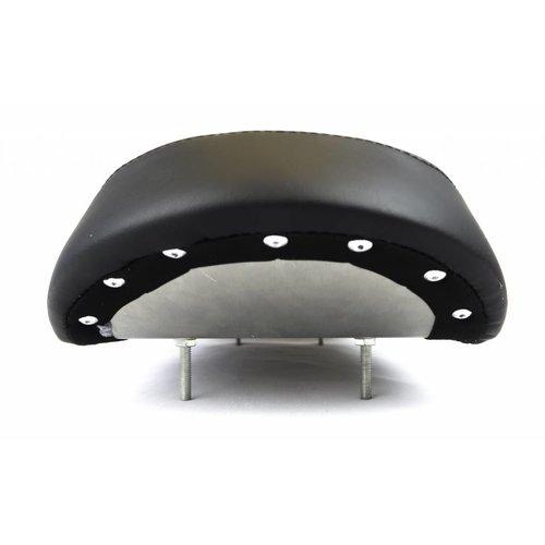 51cm - 20cm Brat seat Extra flat upswept - Zwart type 1