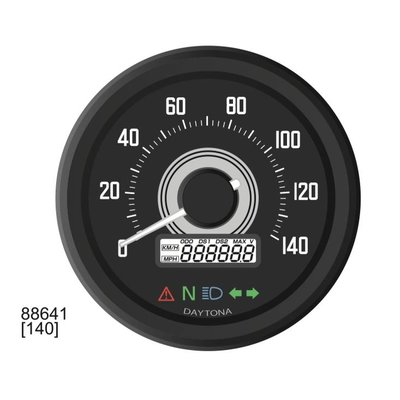 Daytona Velona 60 speedometer 140km/h