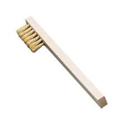 Spark plug brush brass